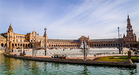Plaza de España (Spain Square), Seville