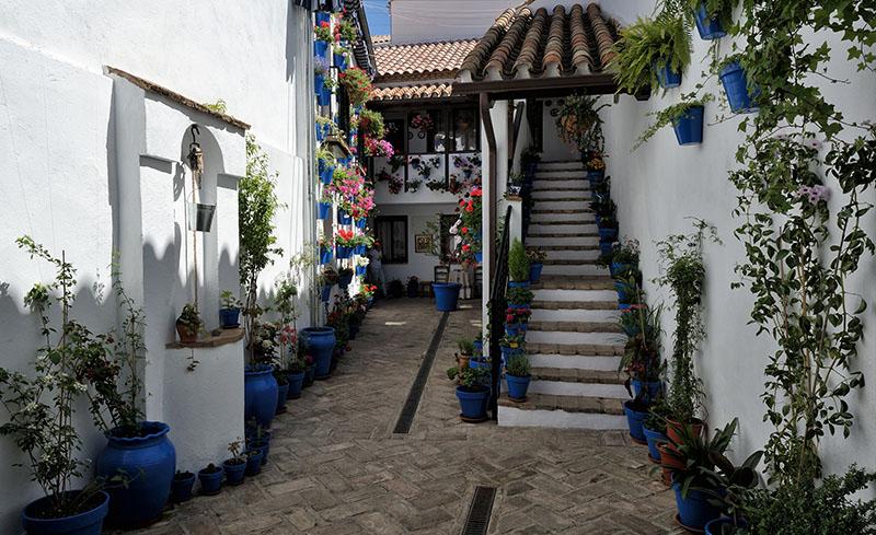 Calles del centro de Córdoba