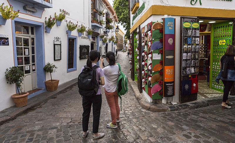 El barrio de la Judería, Córdoba