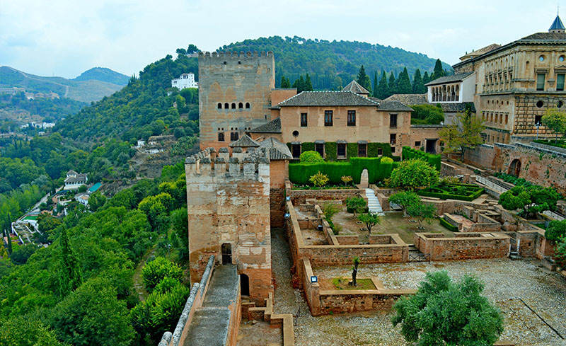 Views from Alhambra, Granada