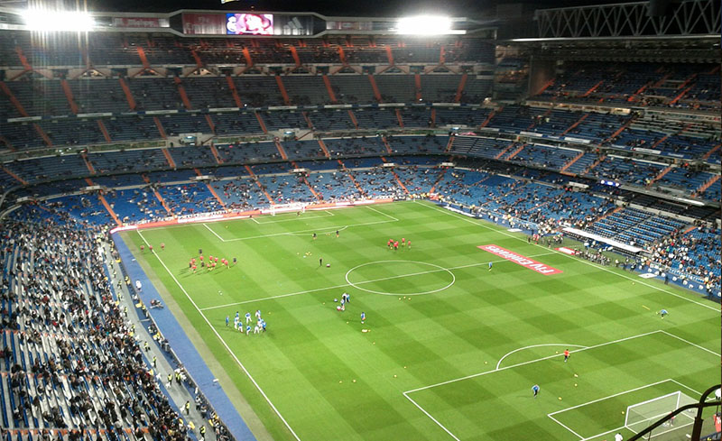 Santiago Bernabeu, Real Madrid stadium