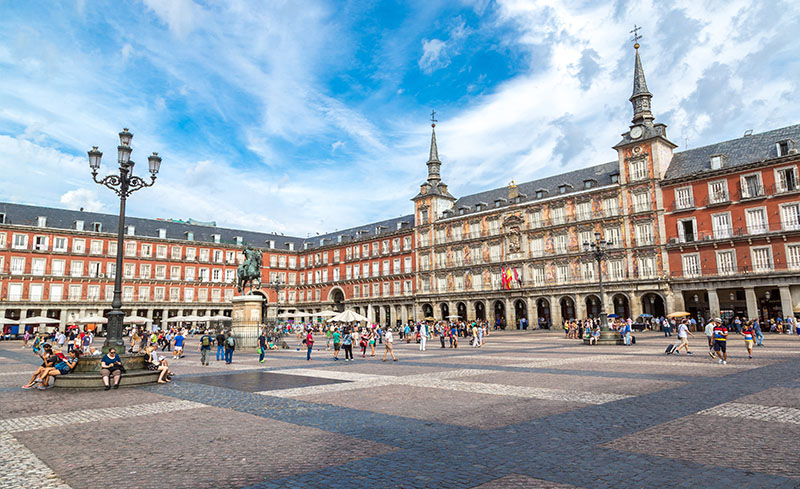 Plaza Mayor (Main Square), Madrid