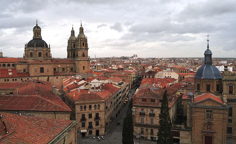 Salamanca vista desde un tejado