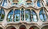 Gaudí's buildings, Barcelona