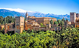 Panorámica de la Alhambra, Granada
