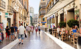 Larios street, Málaga city centre