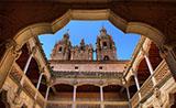El interior de la Casa de las Conchas, Salamanca