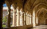 Corredores de la catedral de Santander