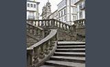 Stone stairs, Santiago de Compostela